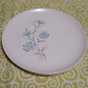 2 Vintage Ever Yours USA Boutonniere Dishes